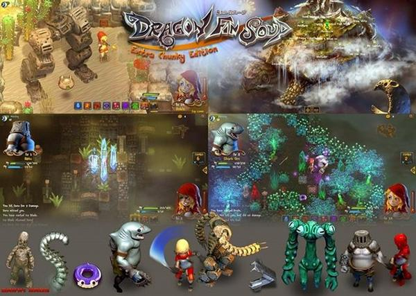 奇幻RPG游戏《龙翅汤》新作将登岸iOS中