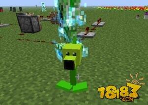 植物大战僵尸MOD怪物--豌豆射手