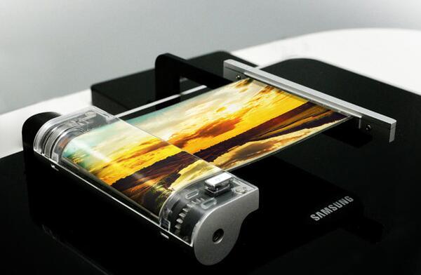 三星Galaxy X配可折叠屏幕
