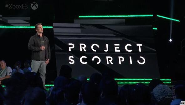 """微软正式宣布Xbox One""""天蝎座"""" 17年发售"""