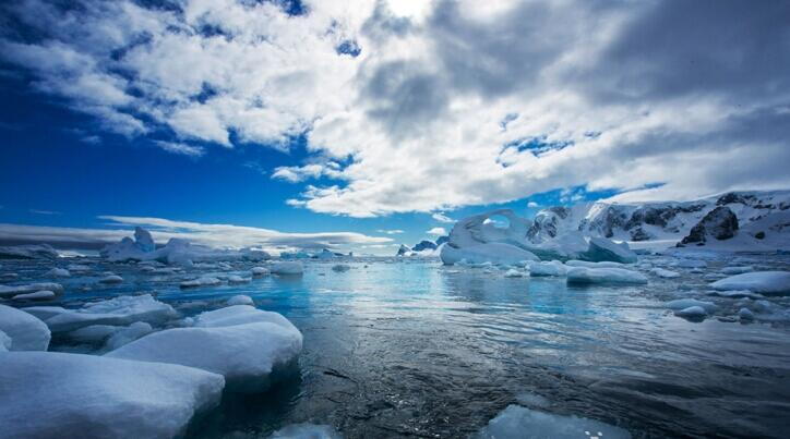 行走极地 它的干净与纯洁是每个人心中的圣地