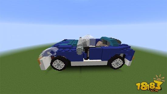乐高积木搭建小汽车