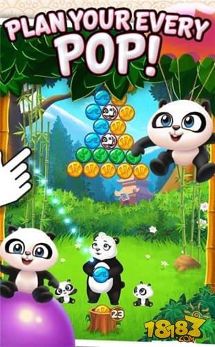 【Android】貓熊泡泡無限生命修改版載點_無限金幣版載點
