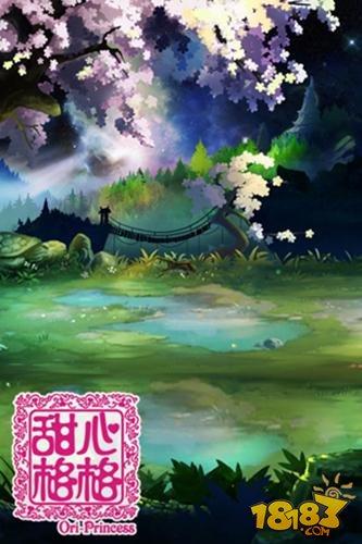 甜心格格手游场景原画赏析 浓郁中国风