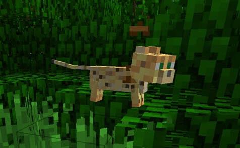 寻找资源的好帮手!我的世界豹猫驯服技巧