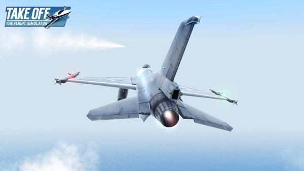 驾驶战斗机飞行 《起飞:飞行模拟》已更新