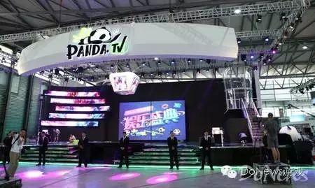 2016年,熊猫tv,龙珠直播首次登上了chinajoy的舞台,并各自在btob展馆