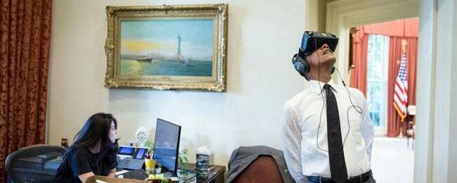 奥巴马白宫体验VR 带你游玩最美国家公园