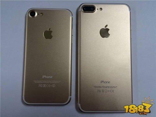手机资讯 正文  苹果7和苹果6splus对比,苹果7plus正面听筒附近的