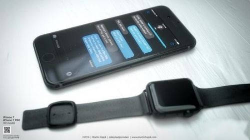 苹果iPhone 7黑色版真机图片全方位赏析