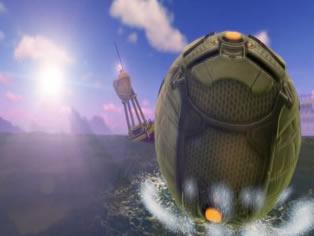 《火箭联盟》新版本预告公布 酷炫海底竞技场