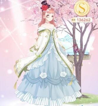 中世纪欧式舞裙
